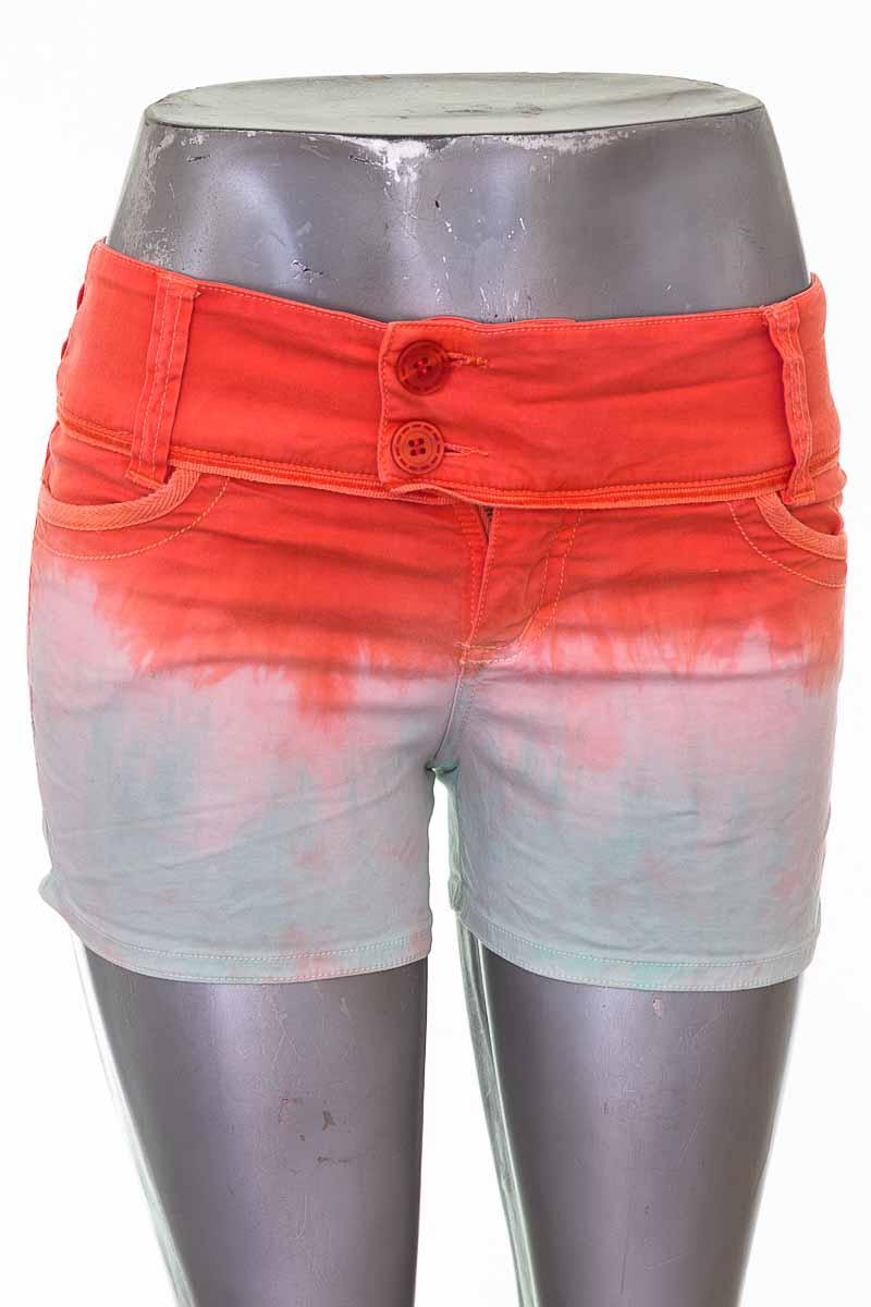 Short Casual color Naranja - Croquet