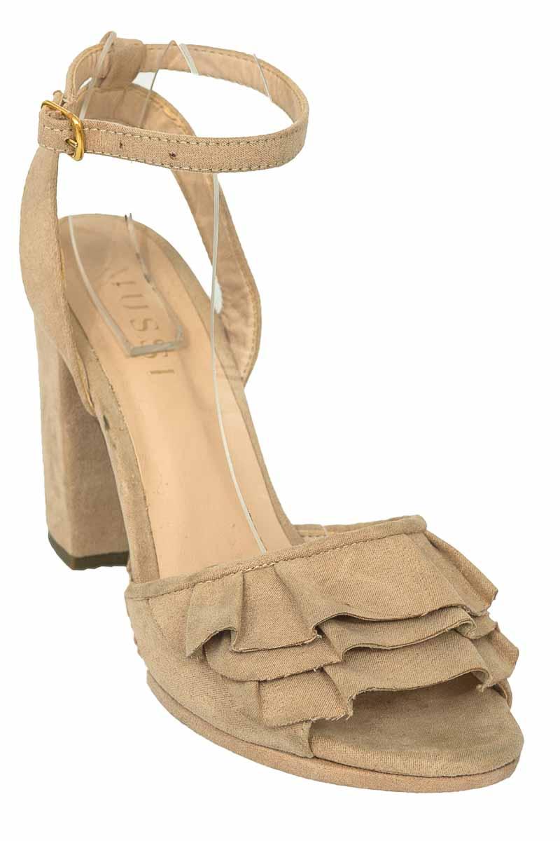 Zapatos Sandalia color Beige - Mussi