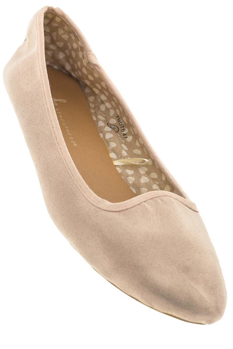 Zapatos Baleta color Beige - Atmosphere