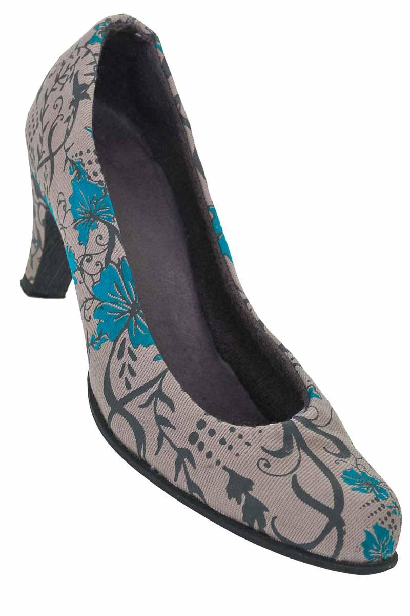 Zapatos Baleta color Gris - Closeando