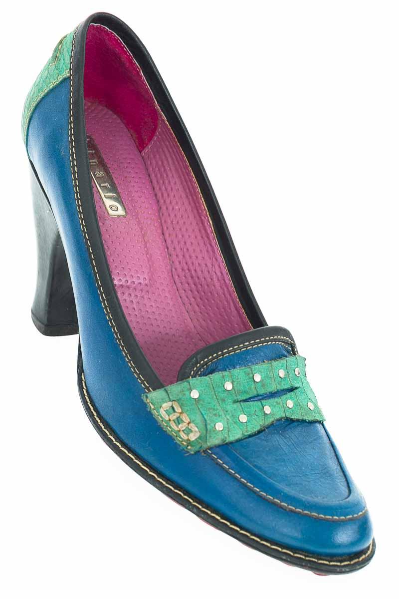 Zapatos Tacón color Azul - Binario
