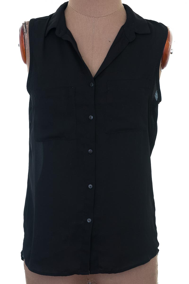 Blusa Casual color Negro - Tennis