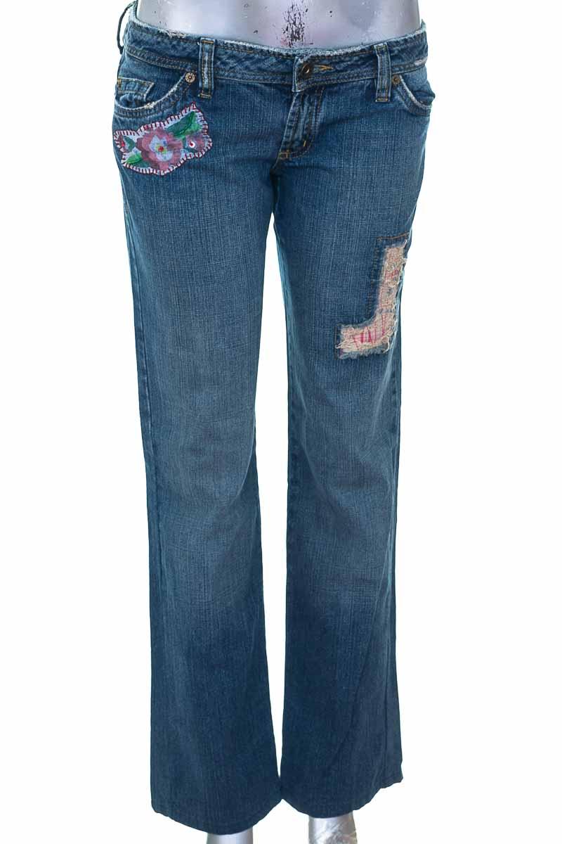 Pantalón Jeans color Azul - NAF NAF