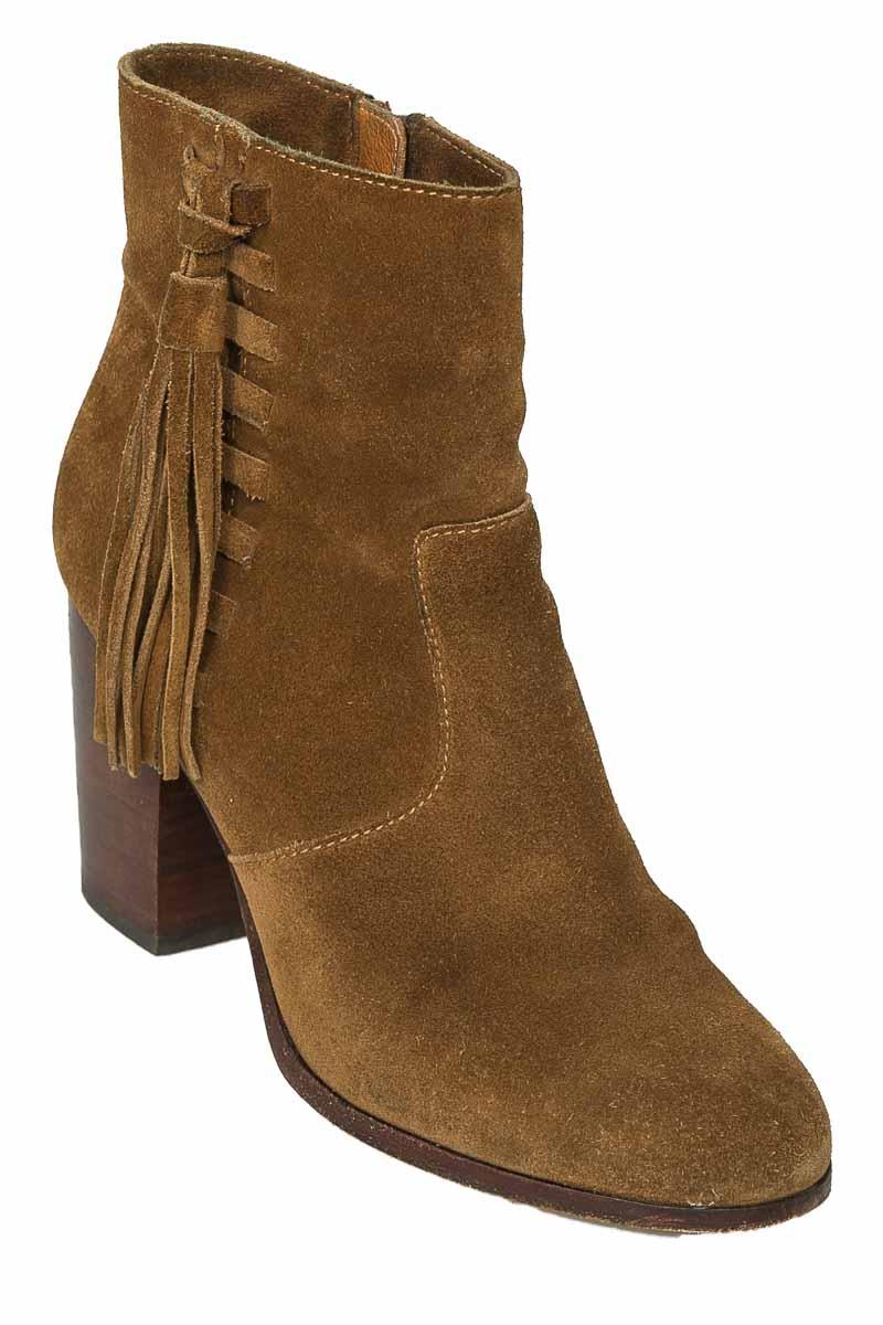 Zapatos Botín color Café - FRYE