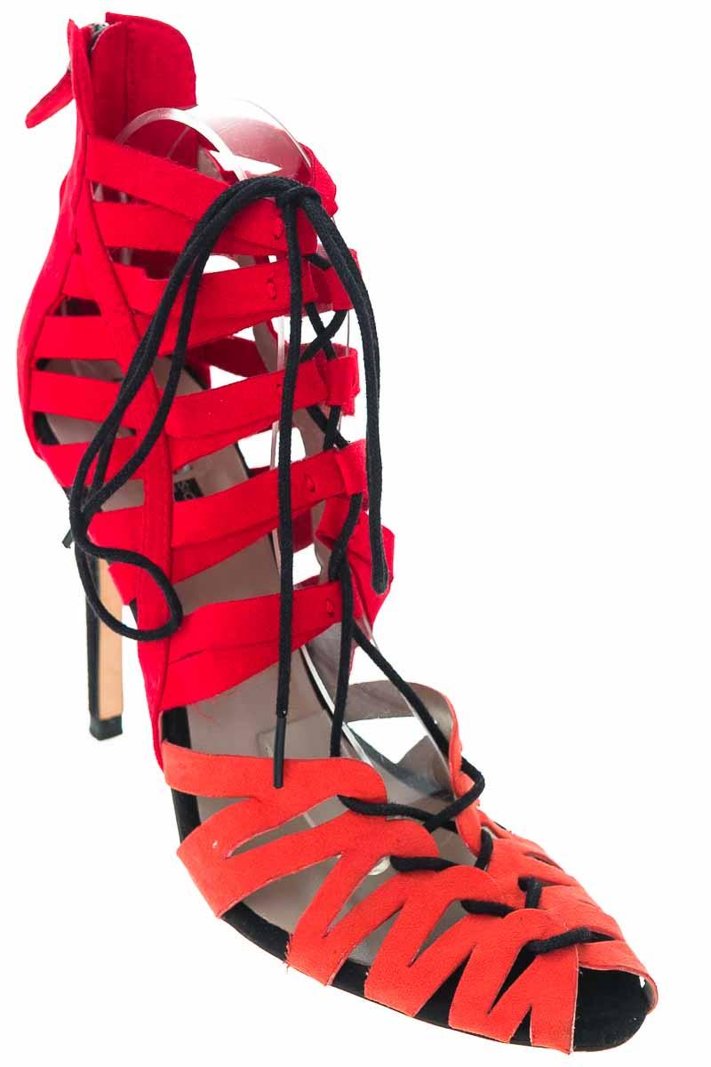 Zapatos Sandalia color Rojo - Zara