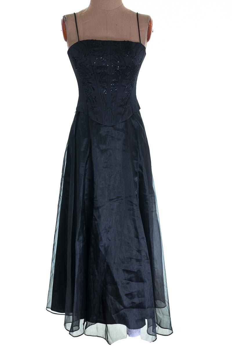 Vestido / Enterizo Fiesta color Negro - Dove  & johnny