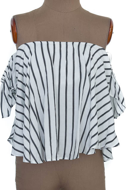 Blusa color Blanco - Bybla