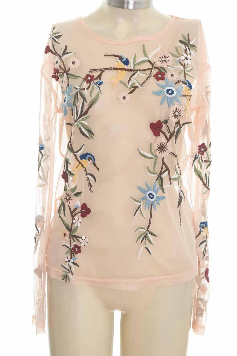 Blusa color Rosado - Zara