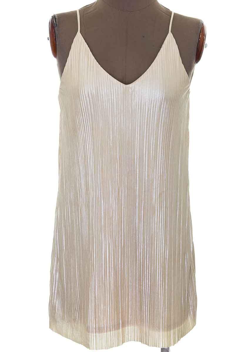 Vestido / Enterizo Fiesta color Beige - One Clothing