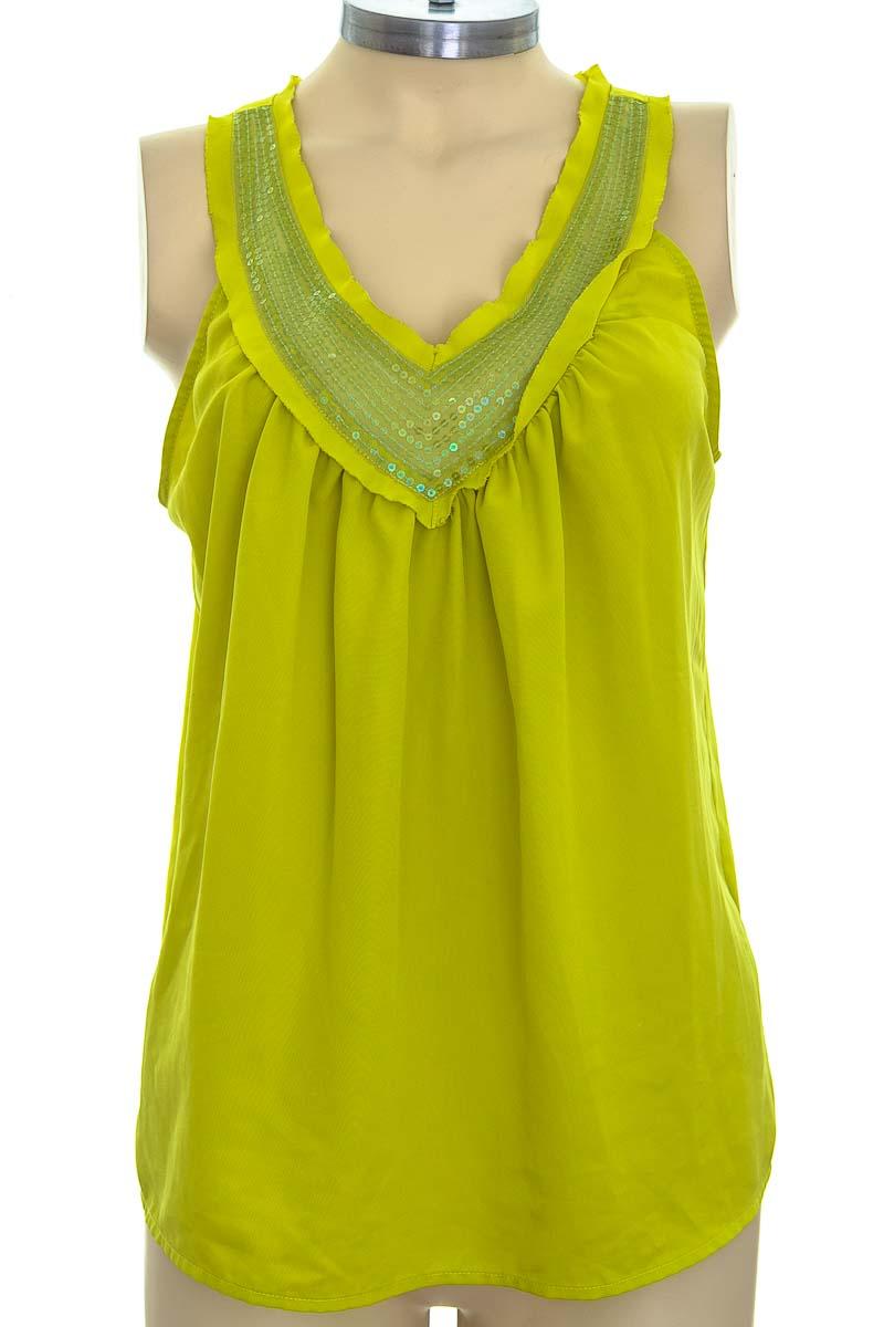 Blusa color Verde - Ellen Tracy