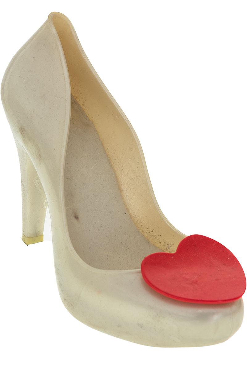 Zapatos Tacón color Beige - Melissa