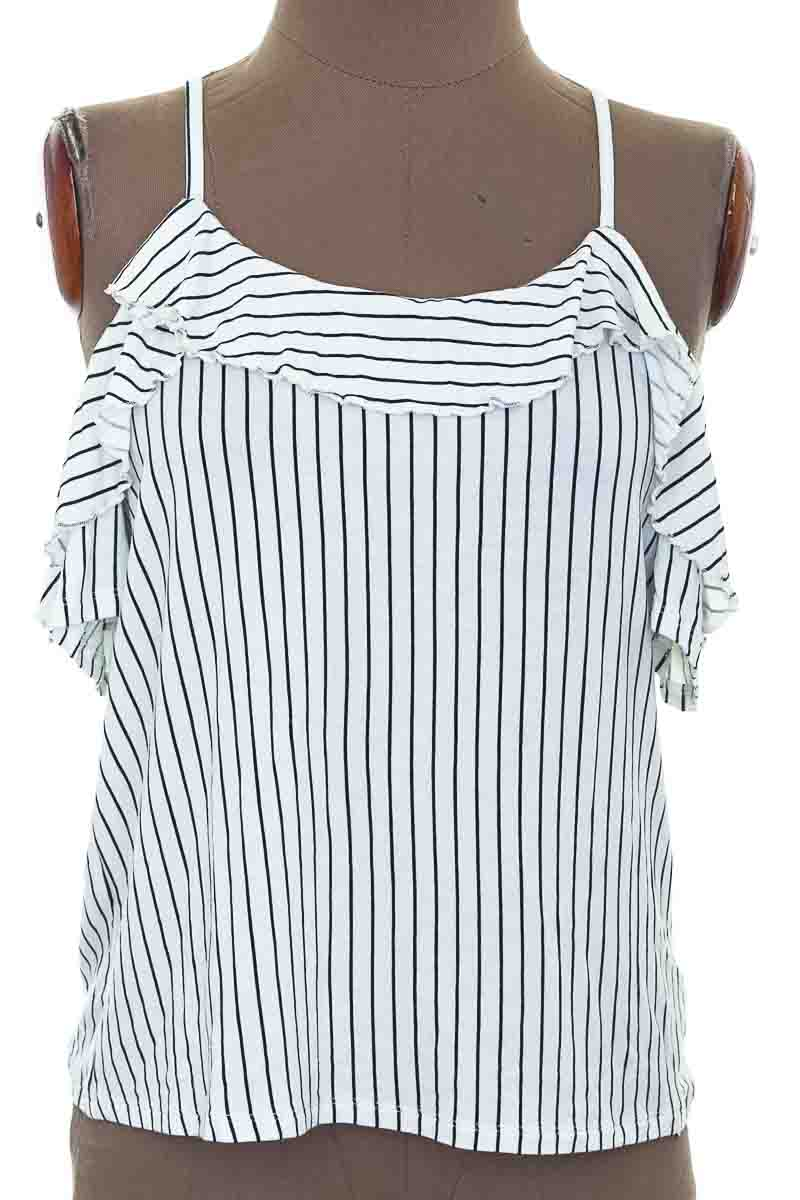 Blusa Casual color Blanco - SOFT & SEXY