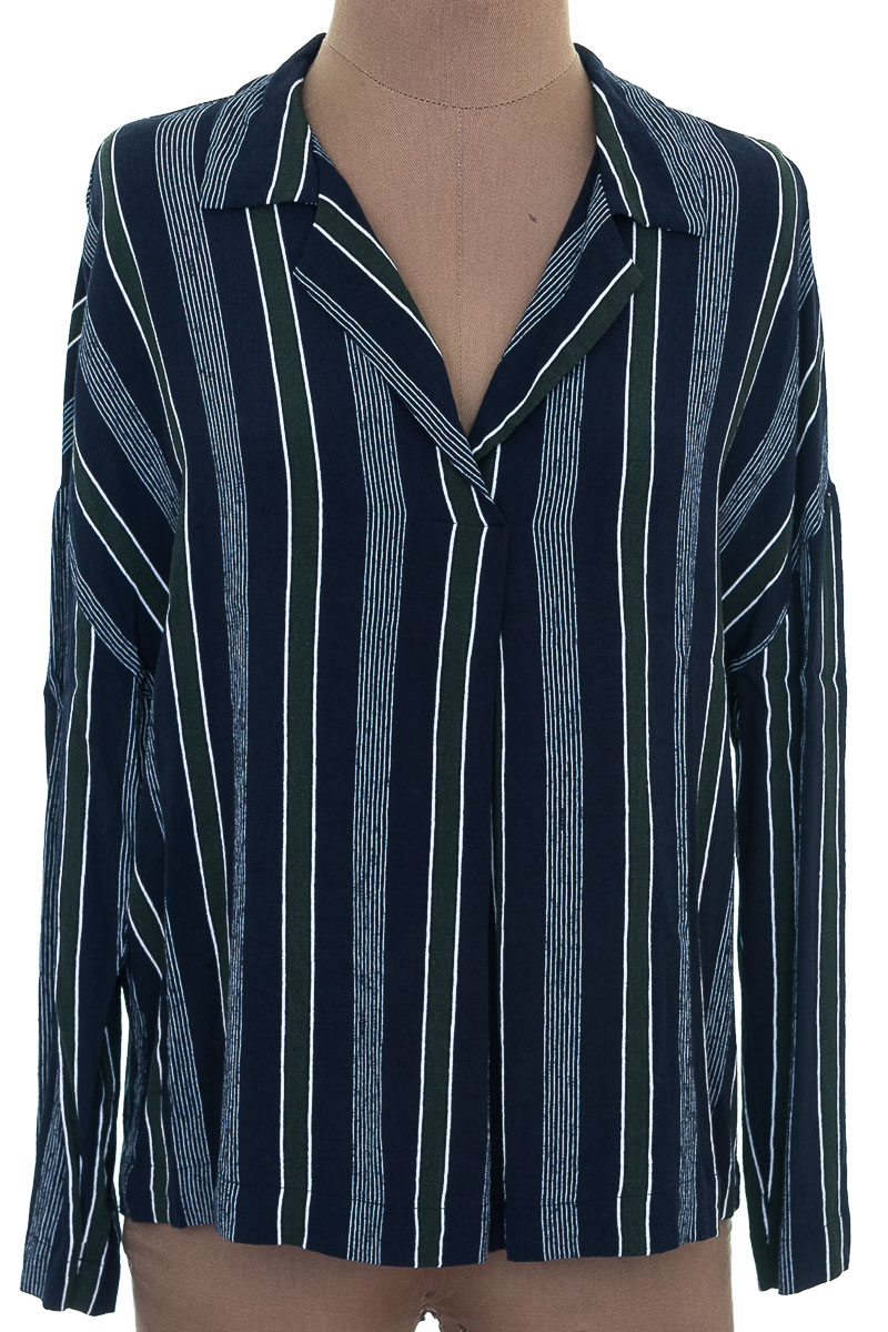 Blusa Casual color Azul - MNG