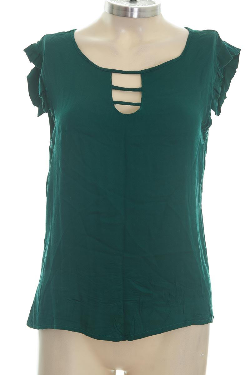 Blusa color Verde - Eva Castillo