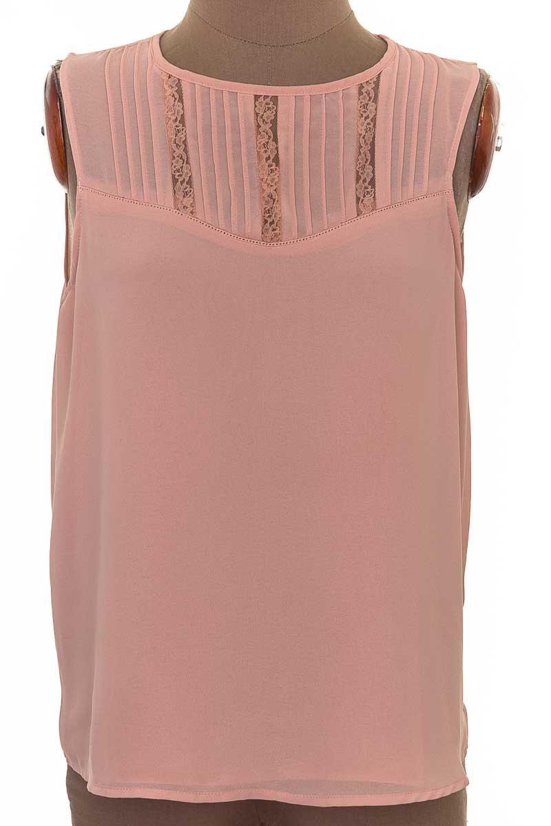 Blusa Casual color Rosado - HAUTE MONDE