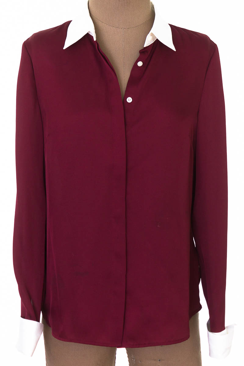 Blusa color Vinotinto - Brooks & Brothers