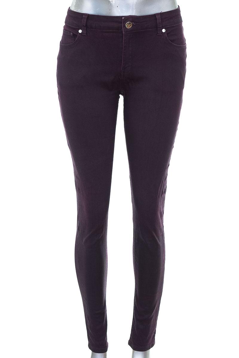 Pantalón Jeans color Morado - MNG