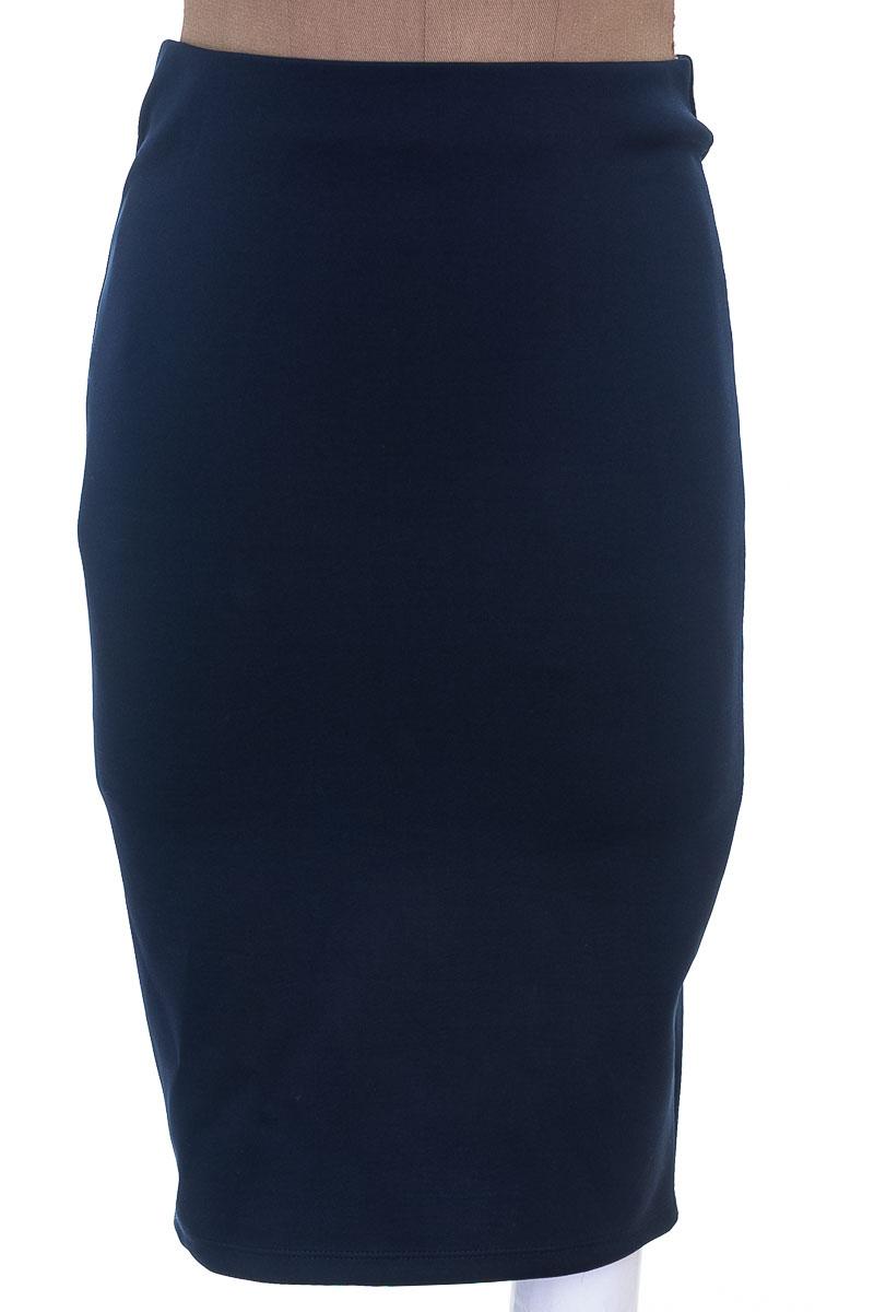 Falda Casual color Azul - Revie W