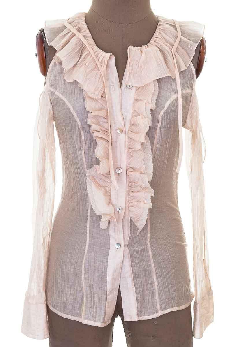 Blusa Formal color Beige - Closeando