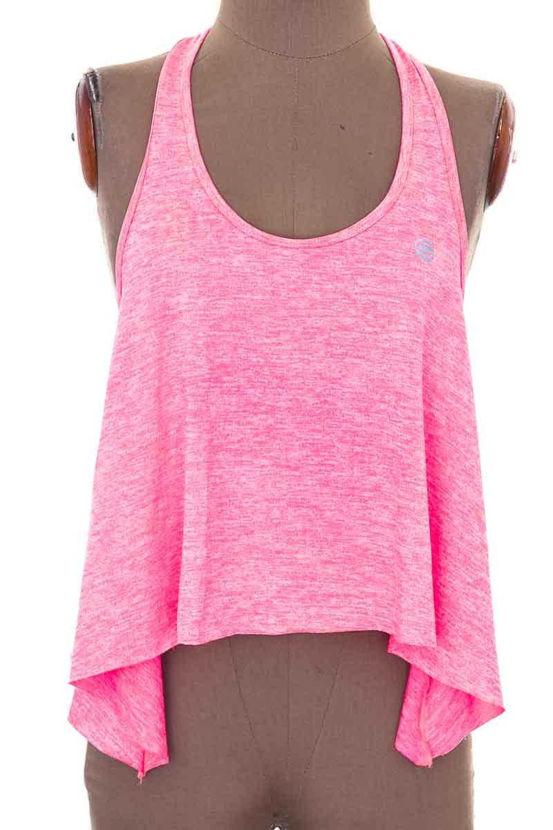 Ropa Deportiva / Salida de Baño Camiseta color Rosado - Closeando