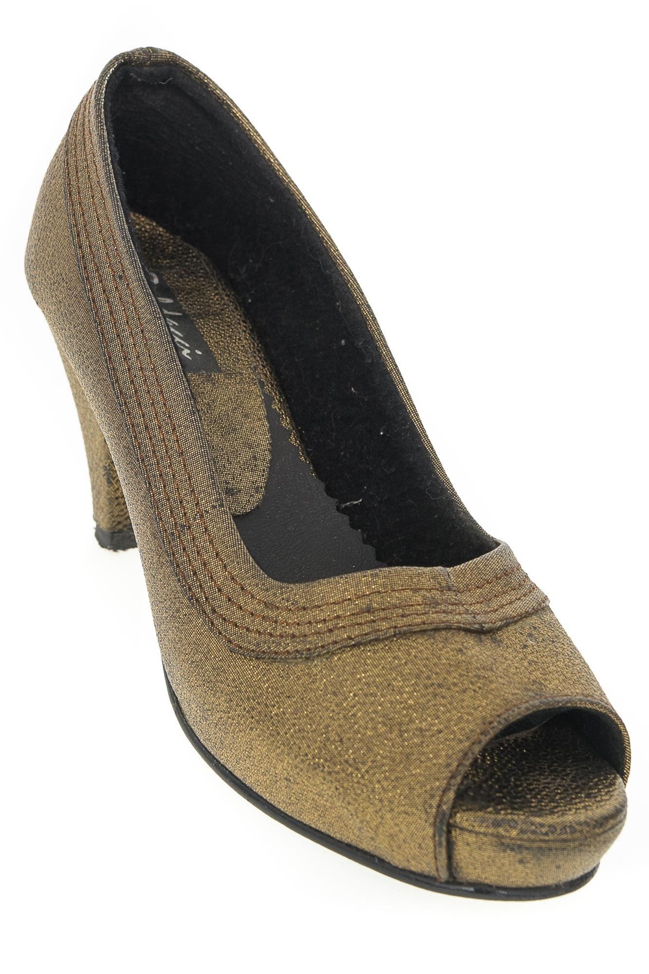 Zapatos Baleta color Dorado - Baldacci