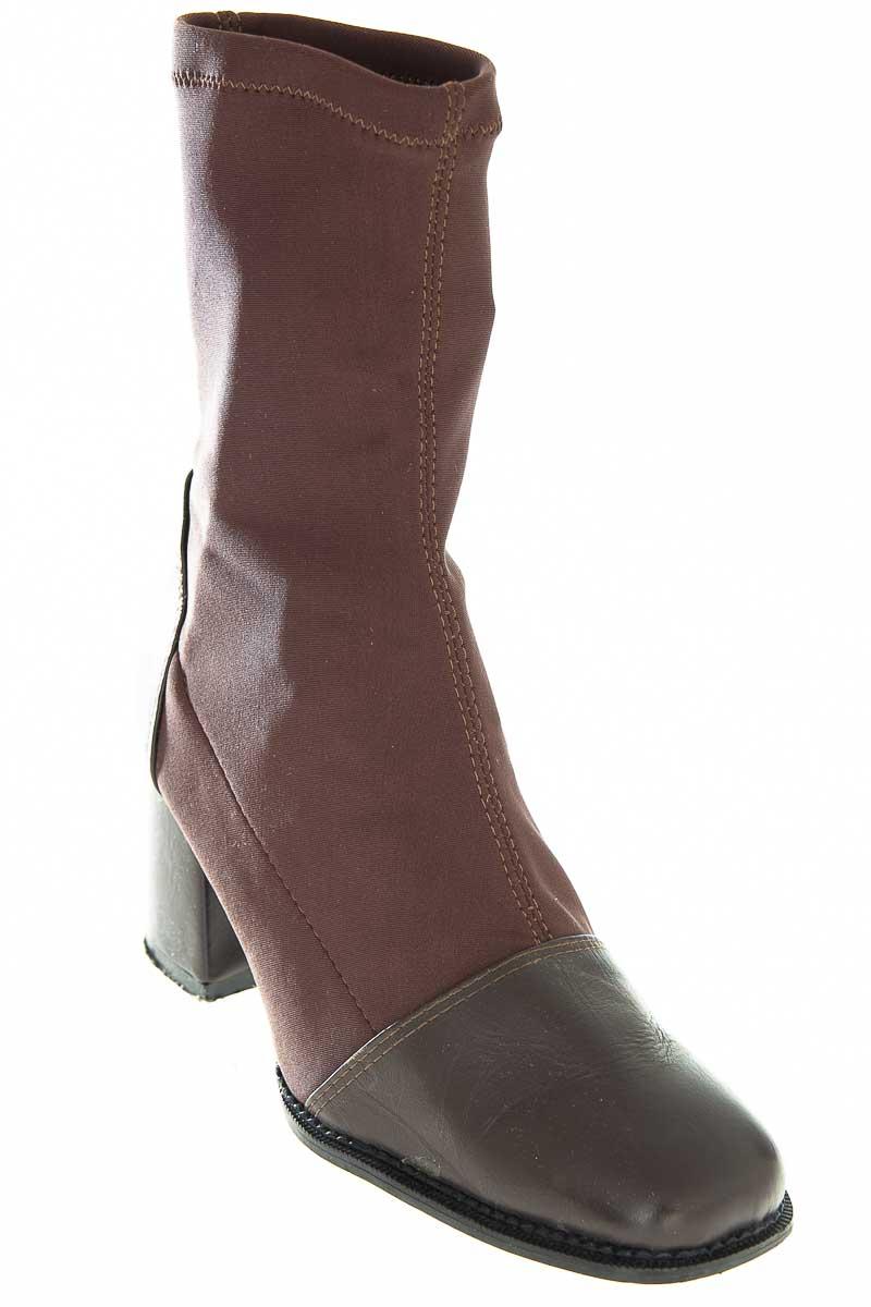 Zapatos Bota color Café - Kalifa