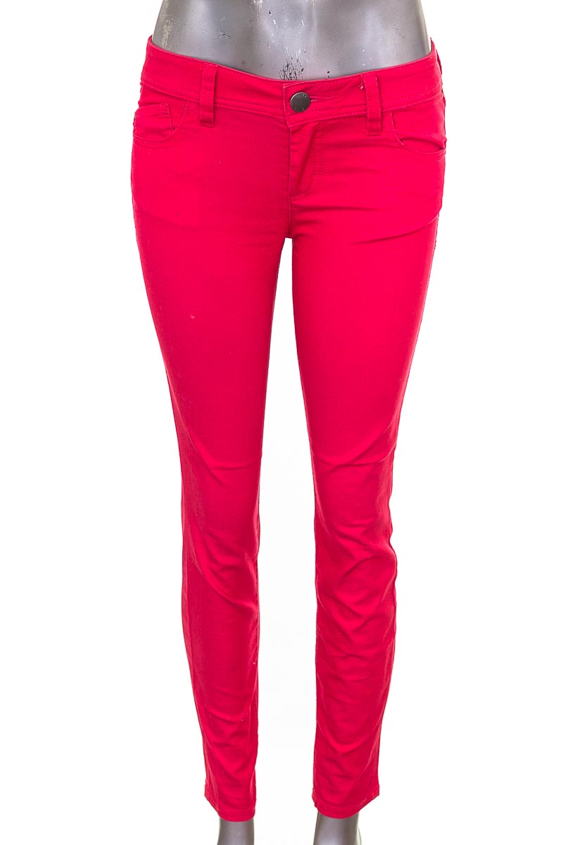 Pantalón Jeans color Rojo - Elle