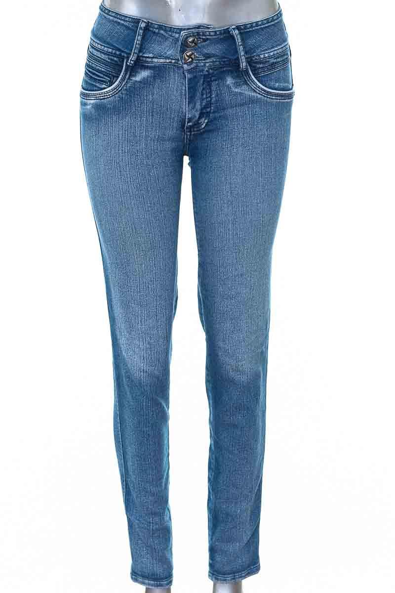 Pantalón Jeans color Azul - Kuxt