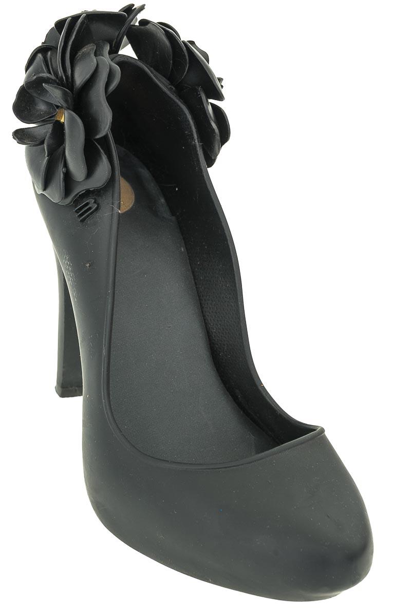 Zapatos Tacón color Negro - Melissa