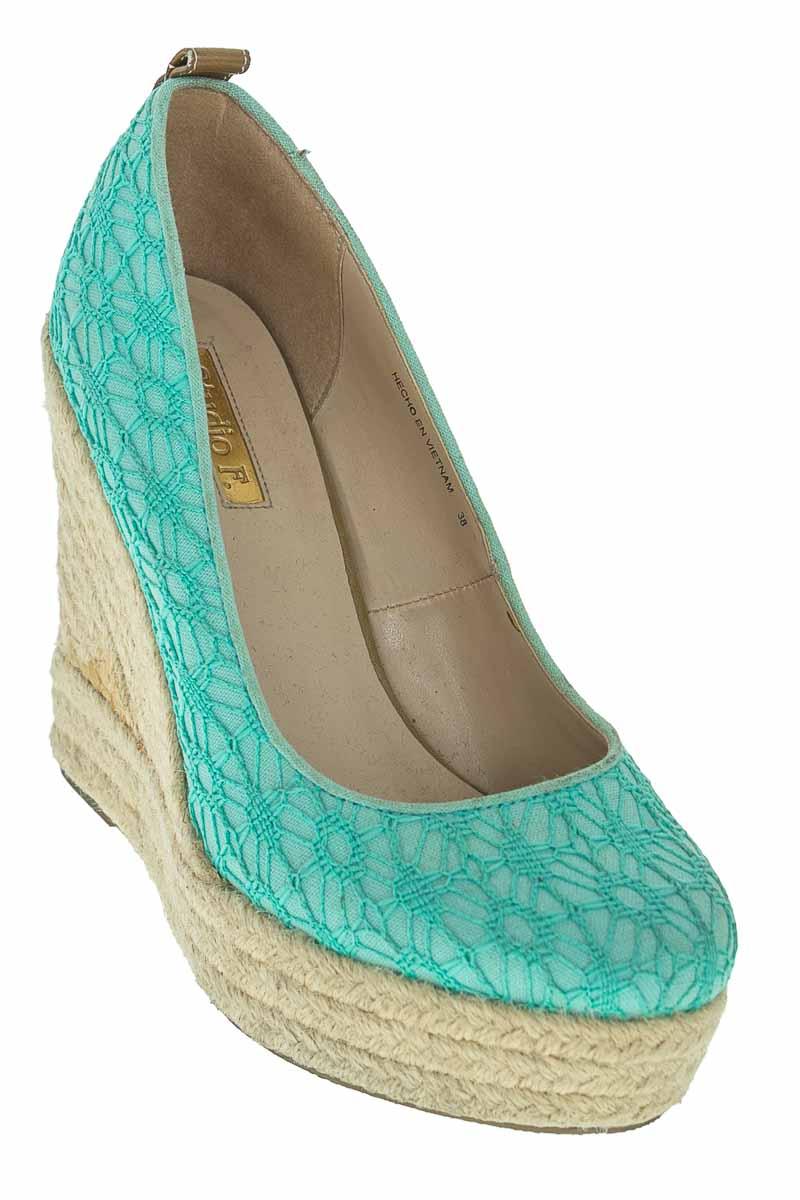 Zapatos Tacón color Verde - Studio F