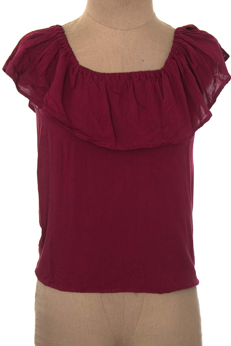 Blusa color Vinotinto - Closeando
