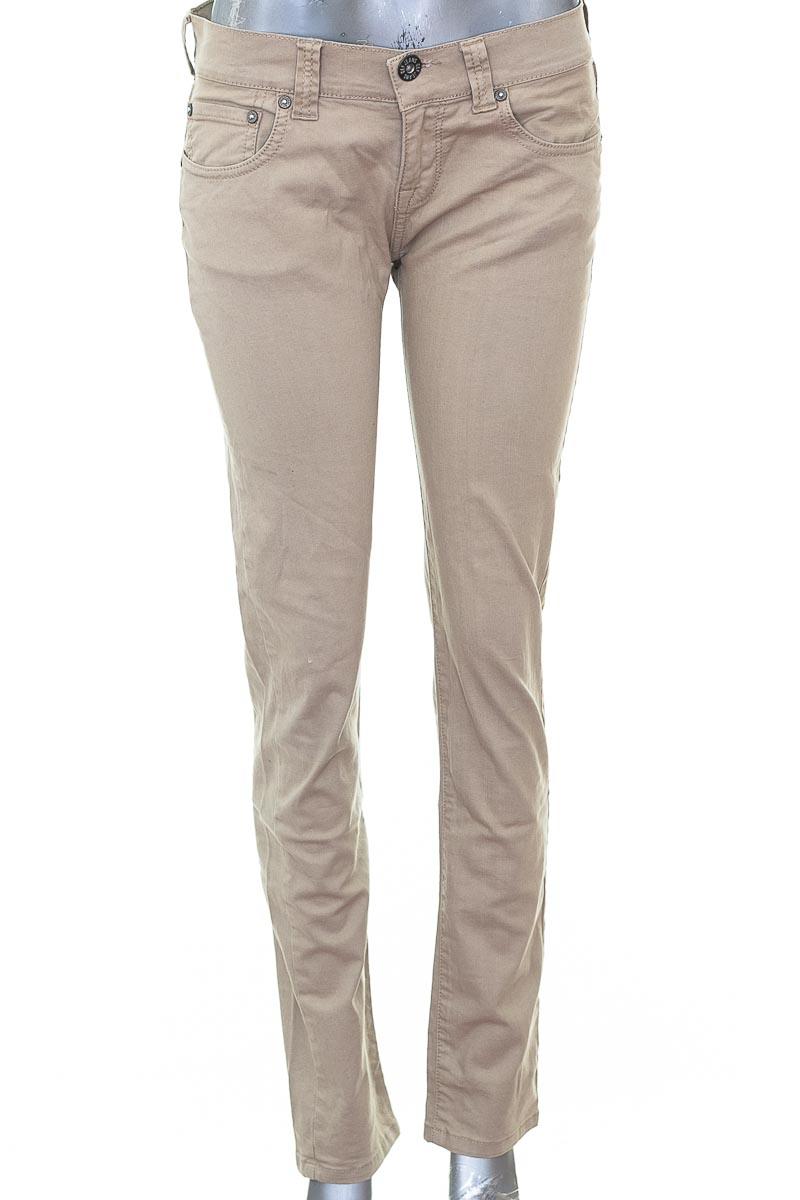Pantalón Jeans color Beige - Gef