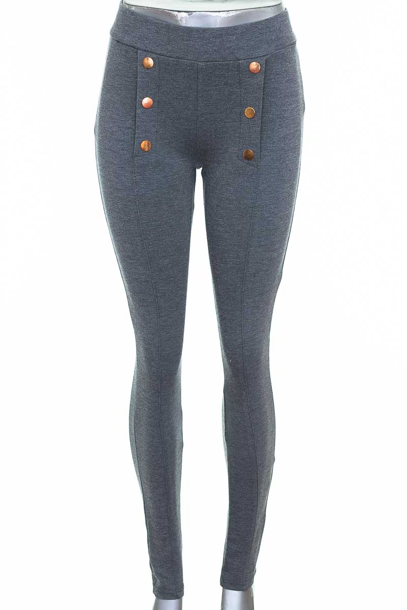 Pantalón Casual color Gris - Z&F