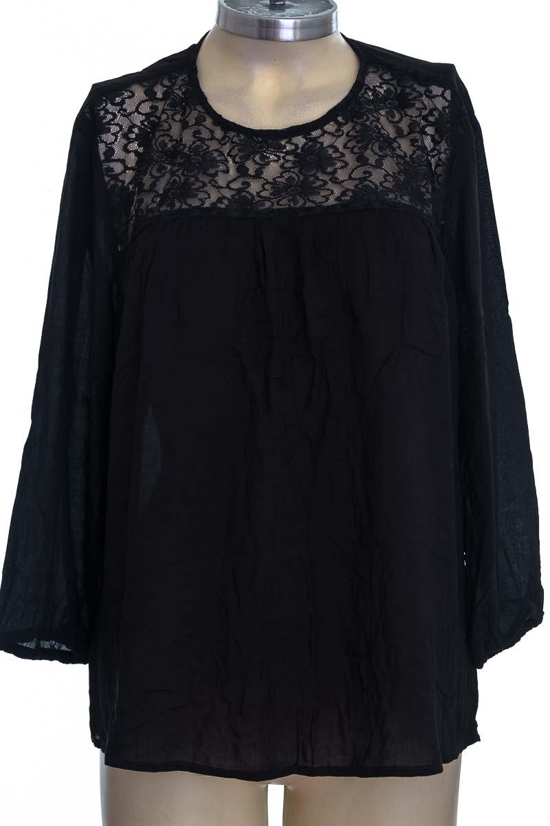 Blusa color Negro - Leonisa