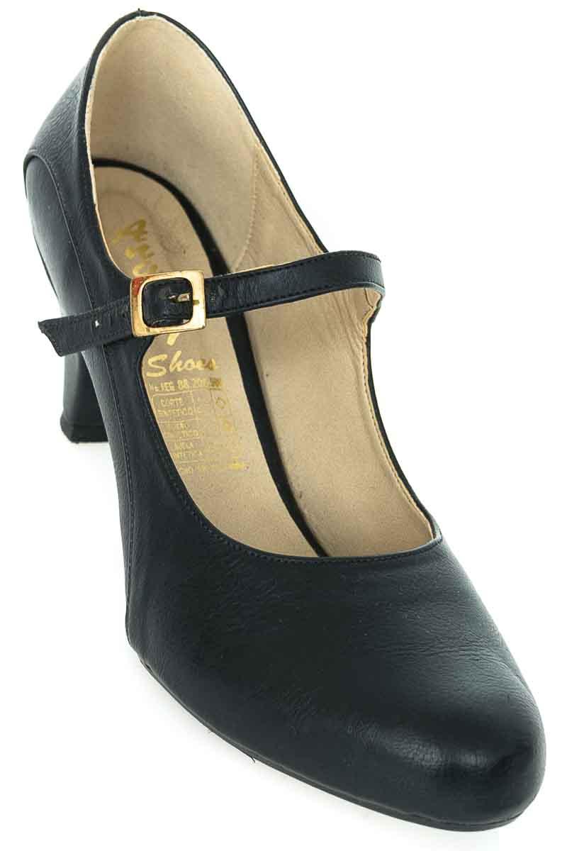 Zapatos Tacón color Negro - Anggy