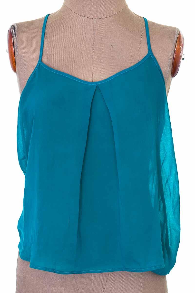 Blusa Casual color Verde - Carmel