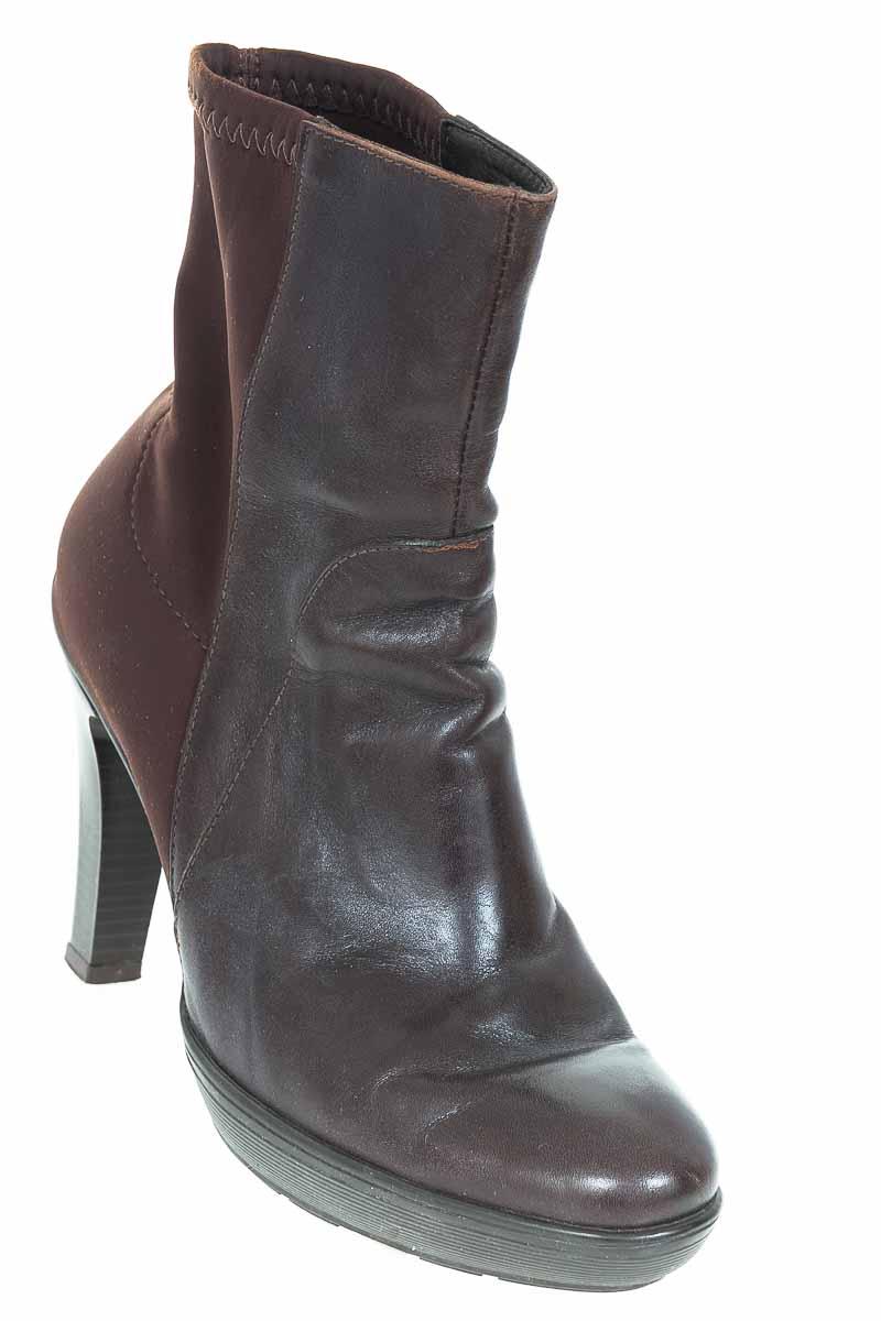 Zapatos Bota color Café - Boucherel
