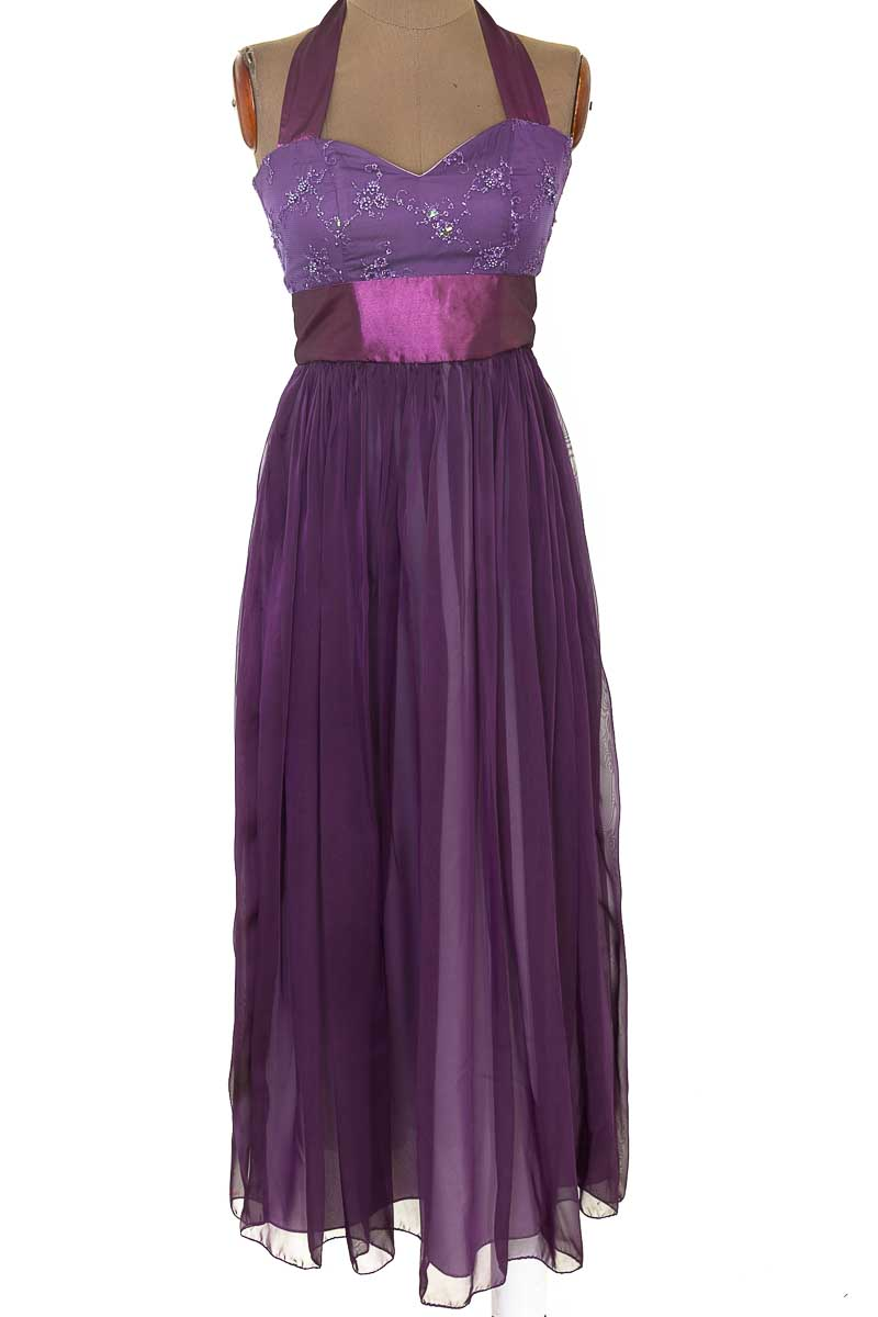 Vestido / Enterizo Fiesta color Morado - Closeando