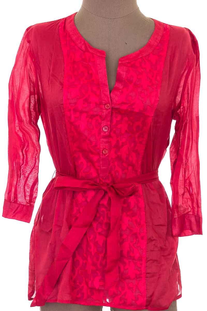 Blusa Formal color Rojo - NEW  YORK TRANSIT