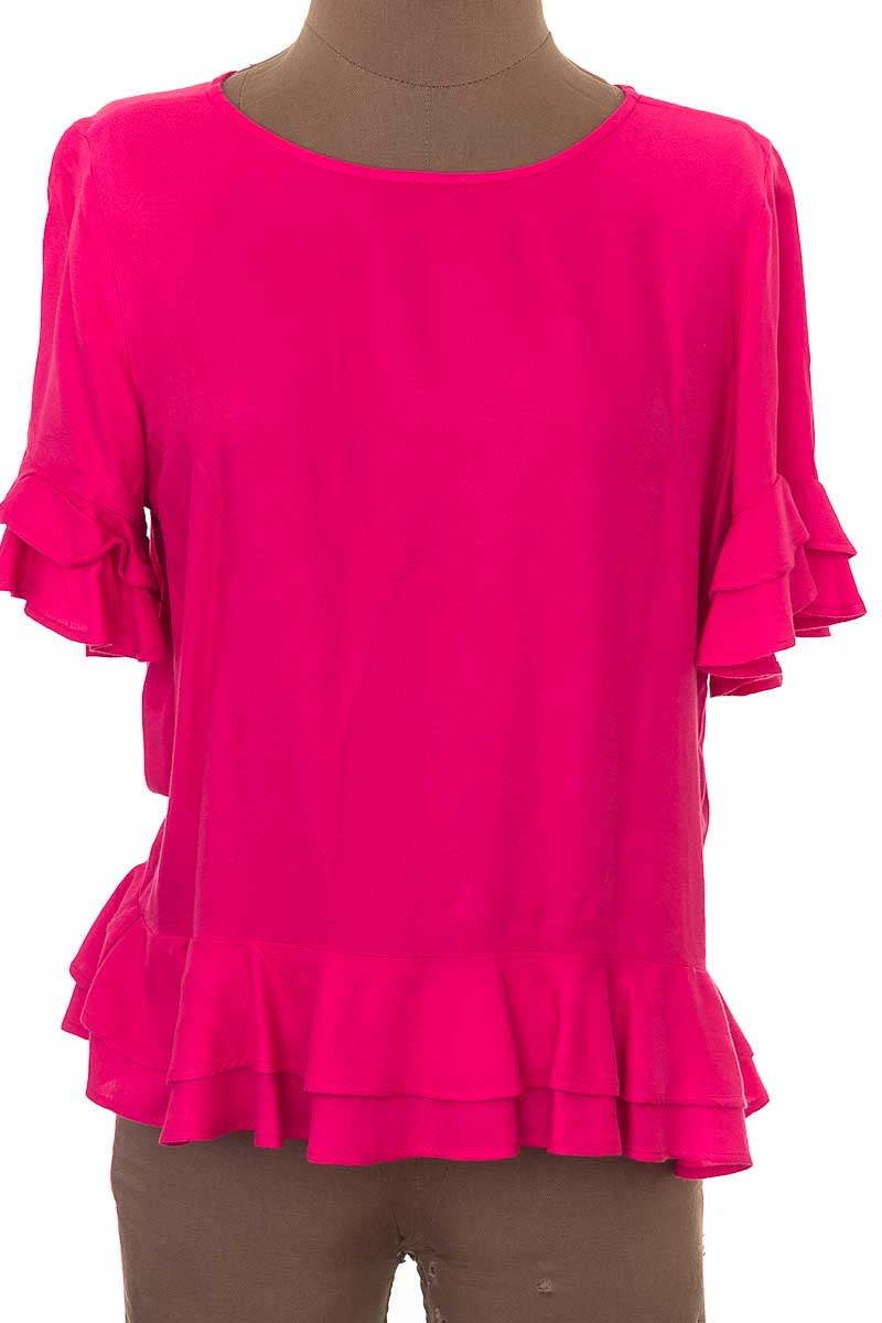 Blusa Casual color Rosado - NAF NAF