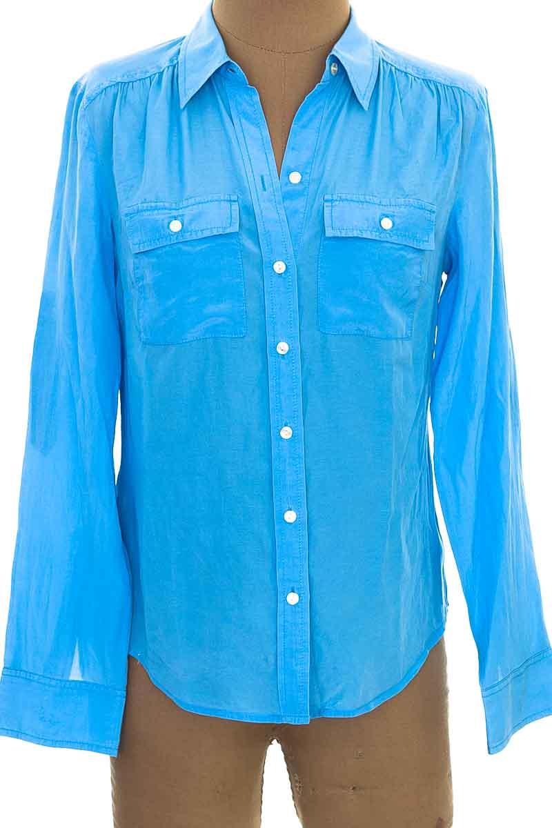 Blusa color Azul - Ann Taylor