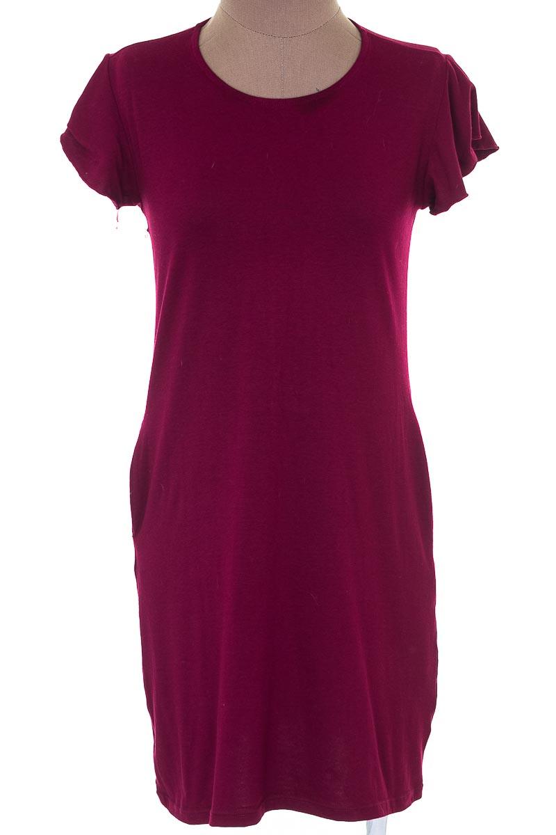 Vestido / Enterizo Casual color Vinotinto - Marketing Personal