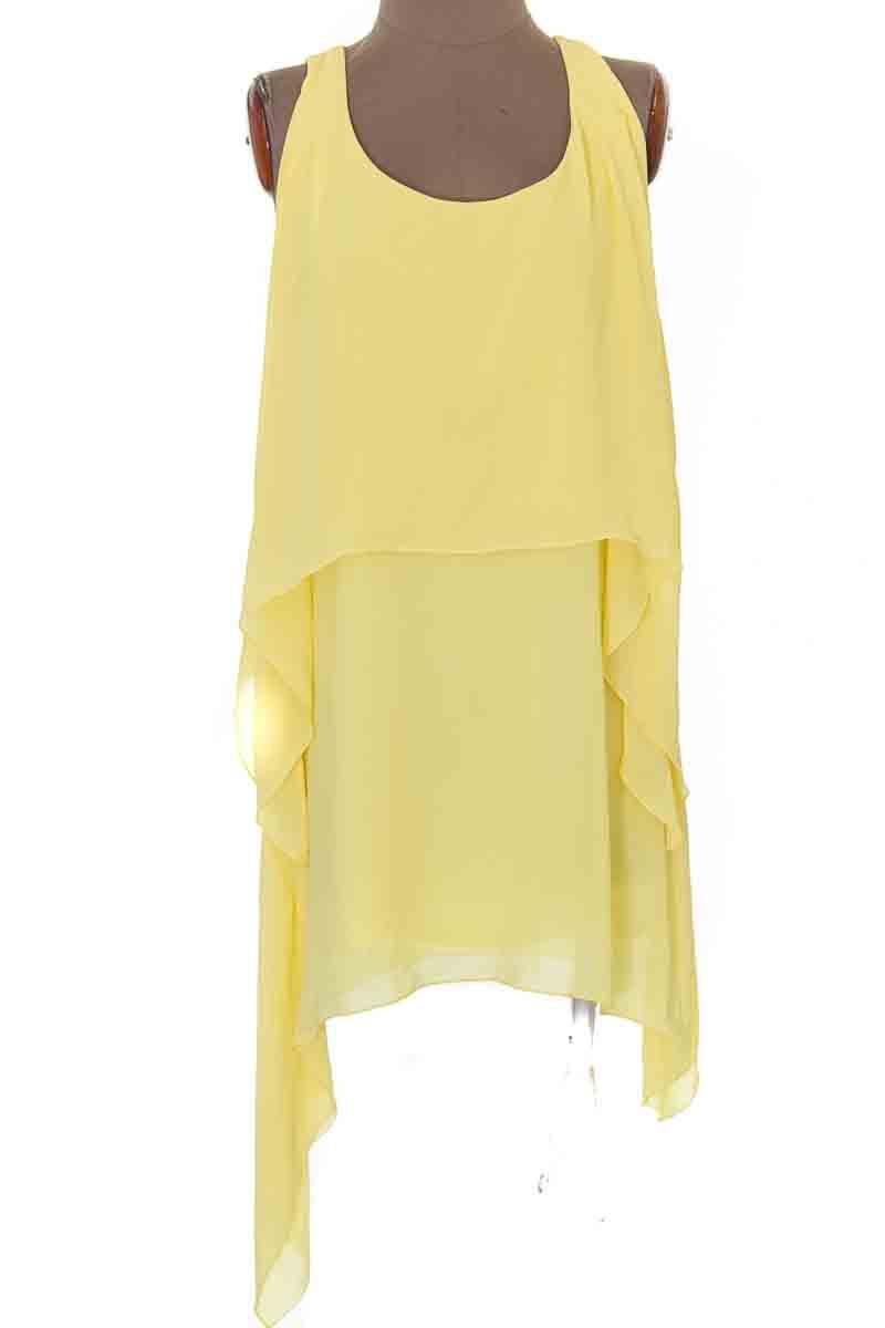Vestido / Enterizo Casual color Amarillo - Especia