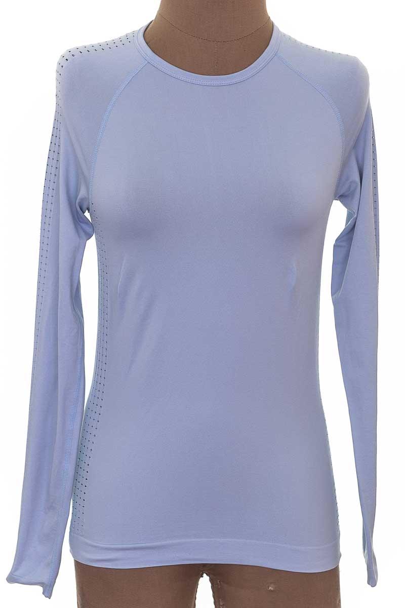 Ropa Deportiva / Salida de Baño Camiseta color Azul - Oysho