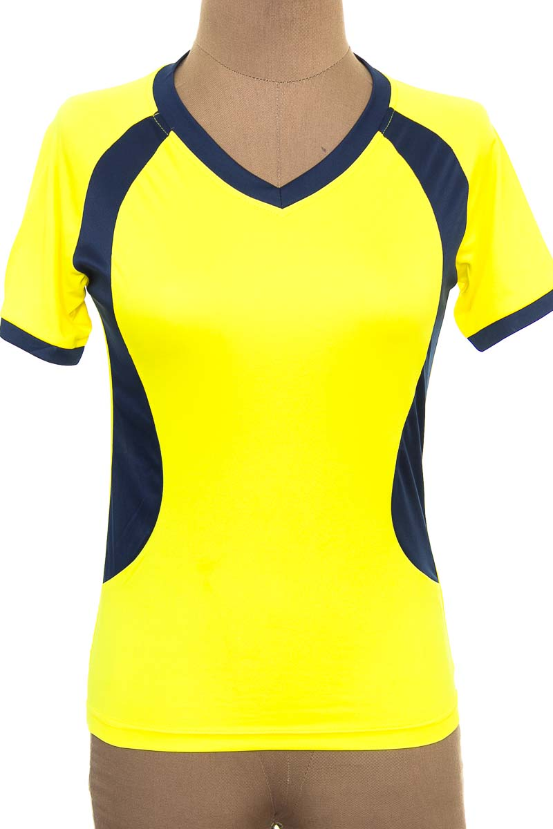 Ropa Deportiva / Salida de Baño Camiseta color Amarillo - Hot Product
