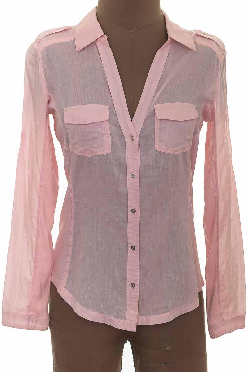 Blusa Casual color Rosado - MNG