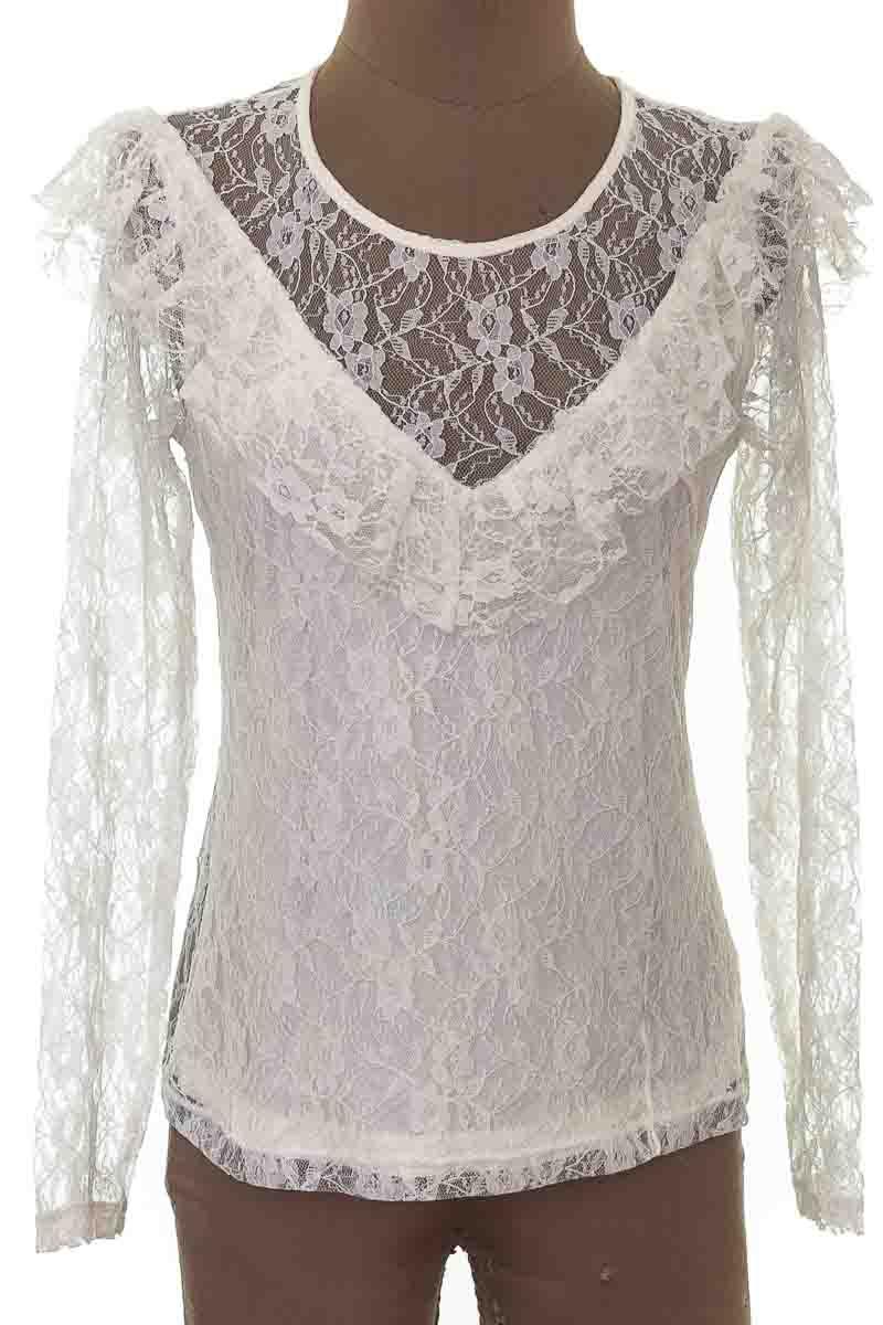 Blusa Formal color Blanco - Lefties