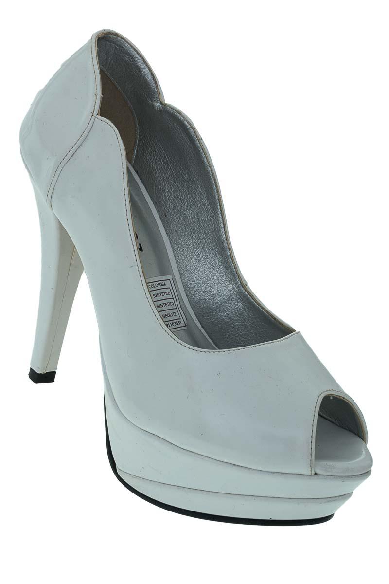Zapatos Tacón color Blanco - CiroPerez