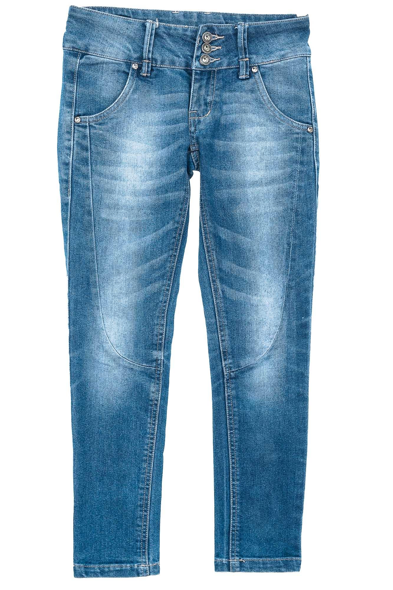 Pantalón Jeans color Azul - Show Must Go Oni