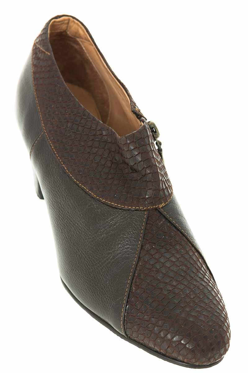 Zapatos Botín color Café - Caprino